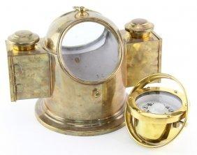Brass Ship Binnacle