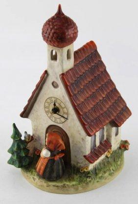 Hummel Chapel Time Love Lives On Clock Tmk 6