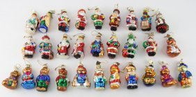 Lot Of 29 Thomas Pacconi Ornament 2002 Collection