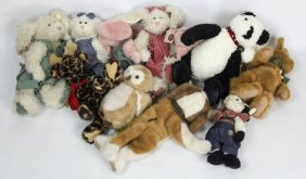 Mixed 12 Boyds Bears Stuffed Animals