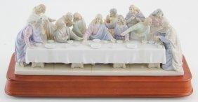 The Valencia Collection The Last Supper Figurine