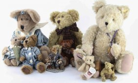 Mixed Lot Boyds Collection Stuffed Bears
