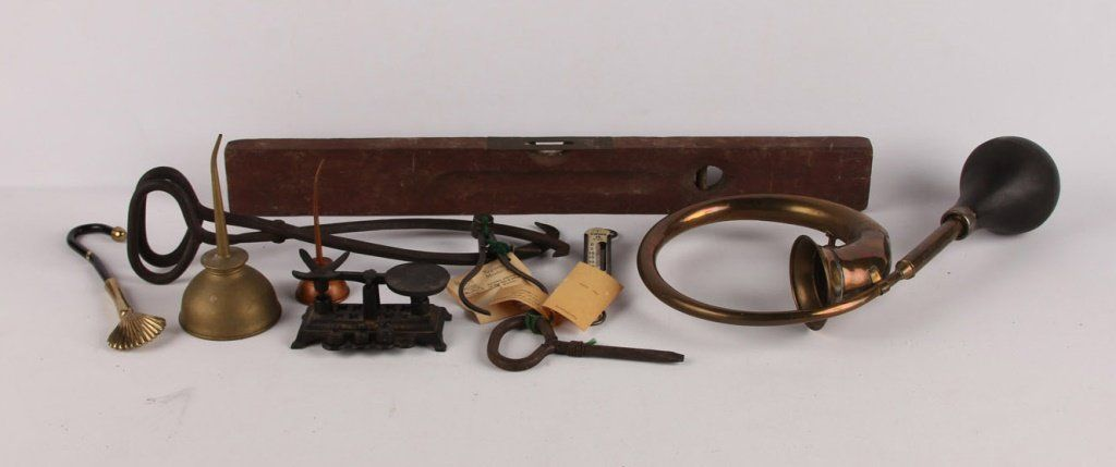 MIXED LOT OF LATE 19TH & EARLY 20TH C TOOLS