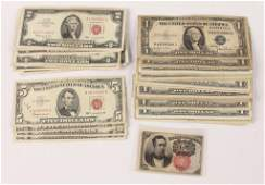 MIXED LOT OF US PAPER CURRENCY