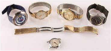 MIXED LOT OF MENS ESTATE WATCHES