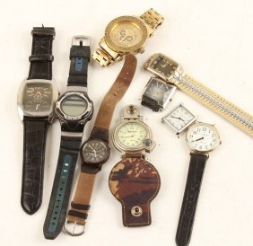 Mixed Lot Of Mens Costume Watches