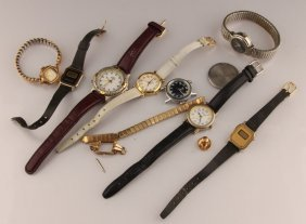 Lot Of Mixed Ladies Estate Watches