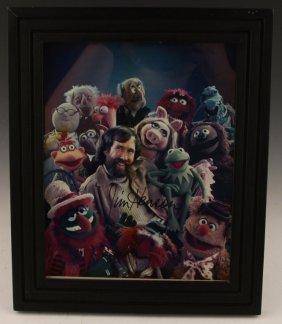 Jim Henson Signature   Creator Of The Muppets