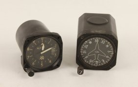 Cessna Airplane Gauges | Altimeter & Compass