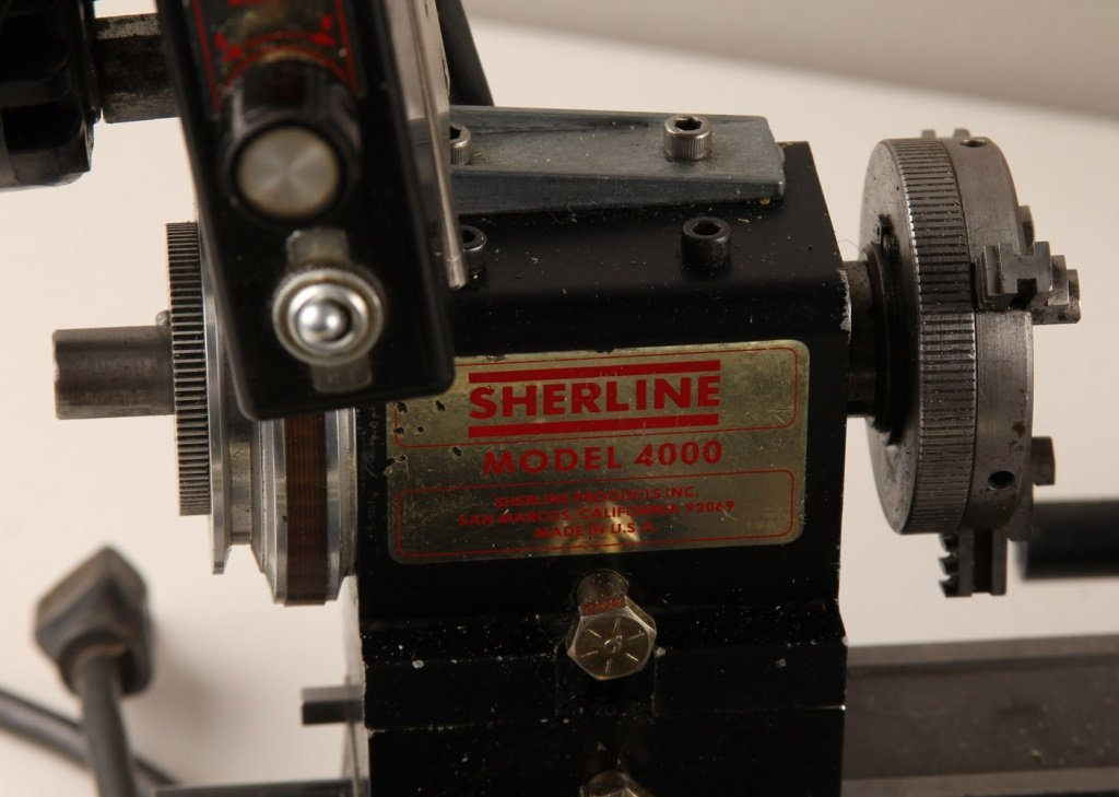 SHERLINE MODEL 4000 LATHE & EXTENSIVE ACCESSORIES - 4