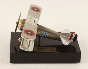 Model Plane With Stand
