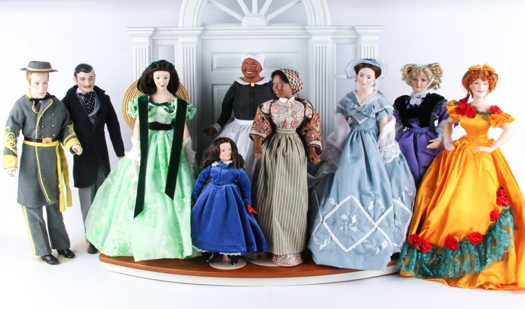 FRANKLIN HEIRLOOM DOLLS GONE WITH THE WIND