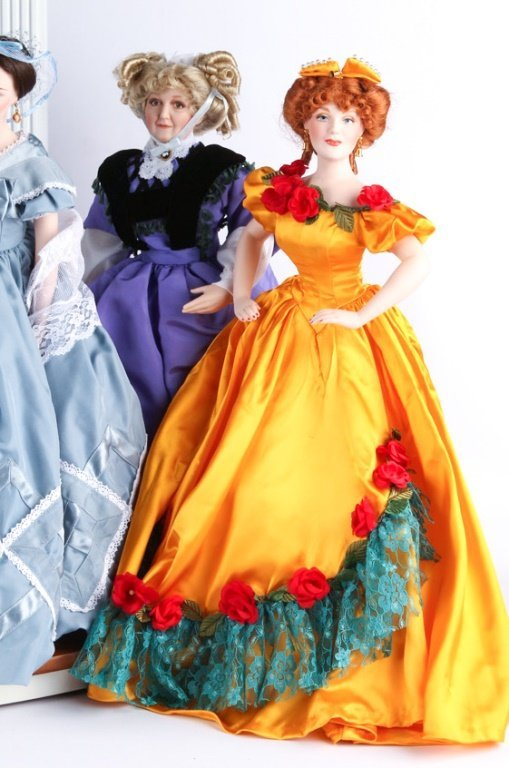 FRANKLIN HEIRLOOM DOLLS GONE WITH THE WIND - 2