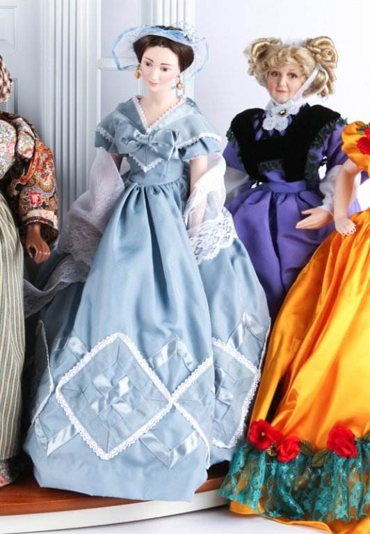 FRANKLIN HEIRLOOM DOLLS GONE WITH THE WIND - 3