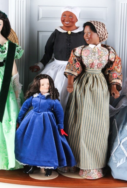 FRANKLIN HEIRLOOM DOLLS GONE WITH THE WIND - 4