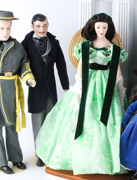 FRANKLIN HEIRLOOM DOLLS GONE WITH THE WIND - 5