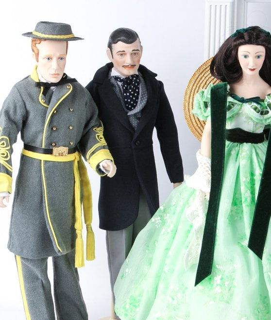 FRANKLIN HEIRLOOM DOLLS GONE WITH THE WIND - 6