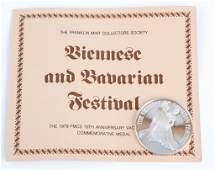 1979 FRANKLIN MINT 925 SILVER VIENNESE & BAVARIAN