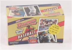SEALED 1993 BOWMAN SERIES BASEBALL CARDS BOX