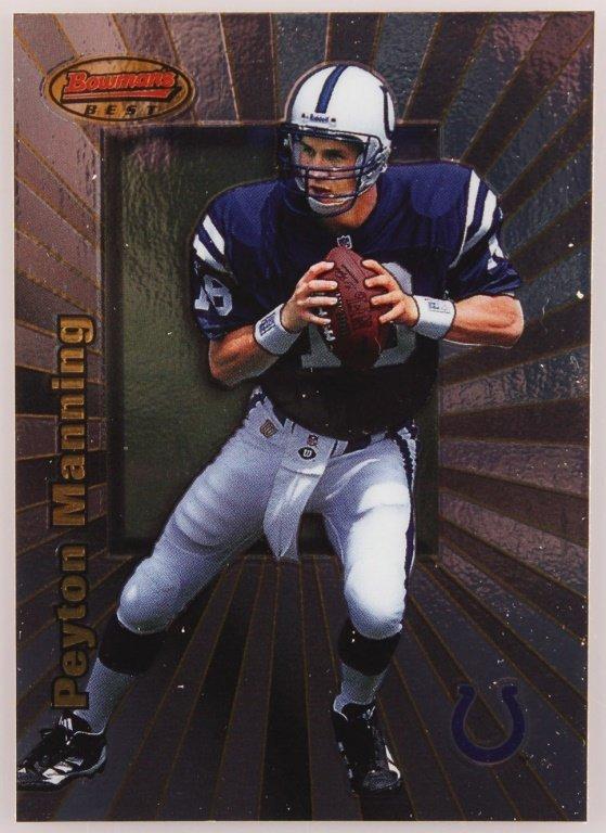 1998 BOWMAN'S BEST 112 PEYTON MANNING CARD