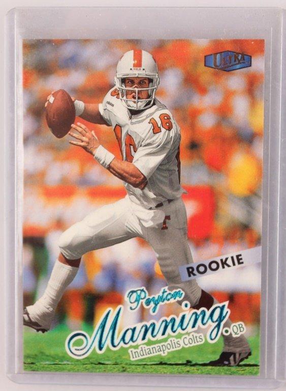 1998 TWO FLEER 201 PEYTON MANNING ROOKIE CARDS - 2
