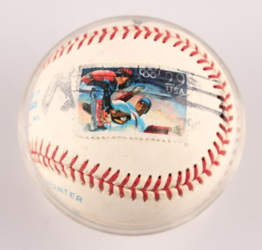 AUTOGRAPHED WILLIE MAYS BASEBALL - 2