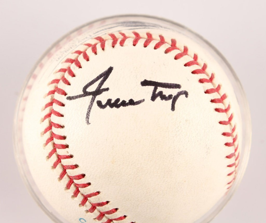 AUTOGRAPHED WILLIE MAYS BASEBALL - 3