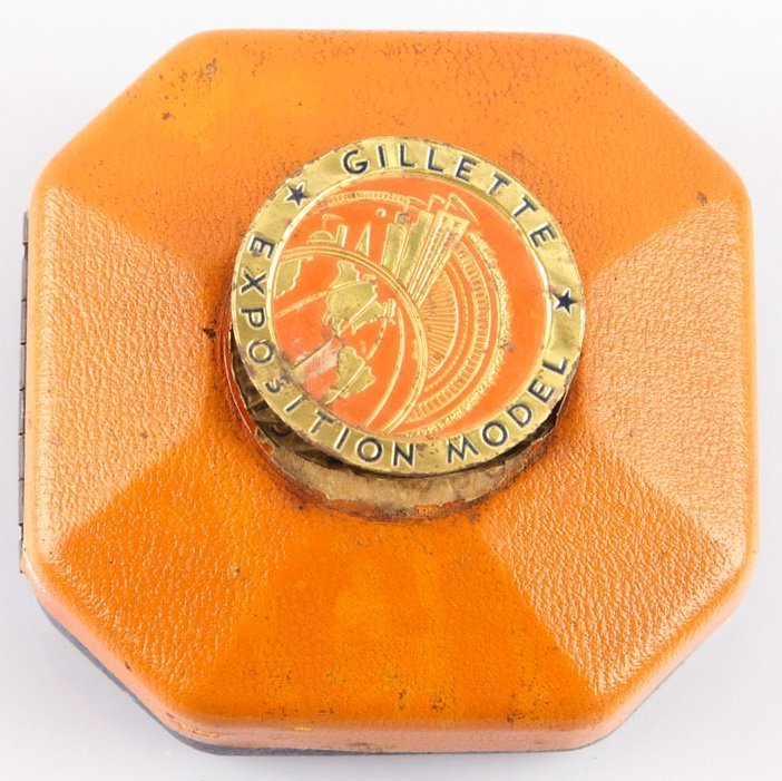 GILLETTE GOLD PLATED EXPOSITION MODEL SAFETY RAZOR - 6