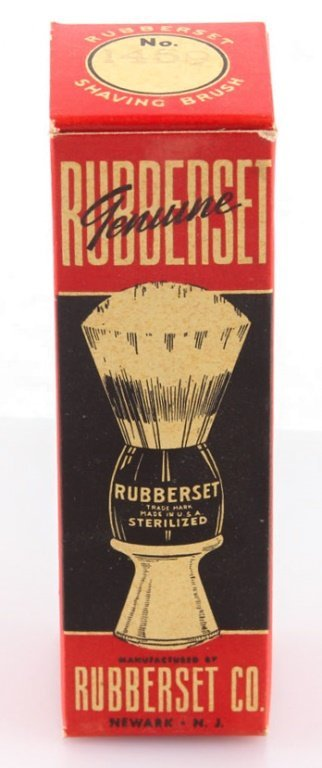 LOT OF 12 NEW IN BOX RUBBERSET SHAVING BRUSHES - 4