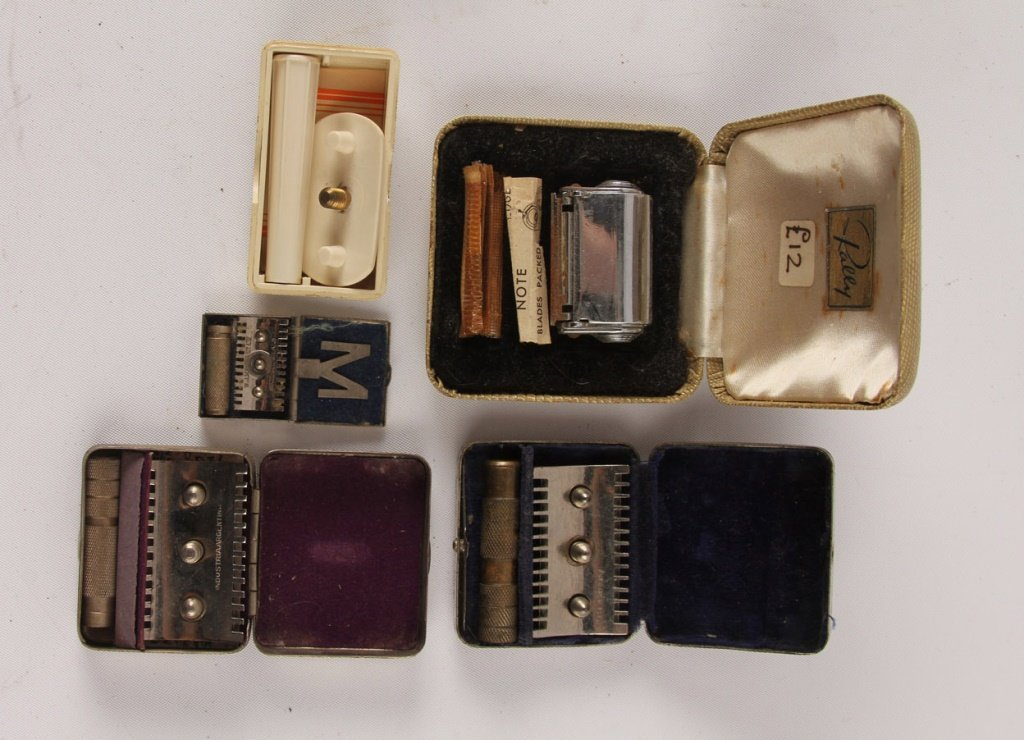 LARGE MIXED LOT OF 15 LADIES SAFETY RAZORS - 2