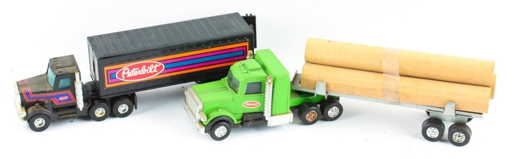 TWO BUDDY L CORP MODEL TOY TRUCKS