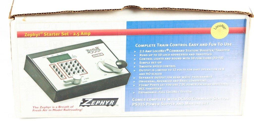 ZEPHYR STARTER SET 2.5 AMP TRAIN TRANSFORMER