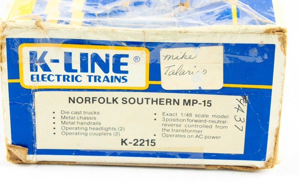 K-LINE TRAINS 2215 DUAL MOTOR MP-15 LOCO - 2