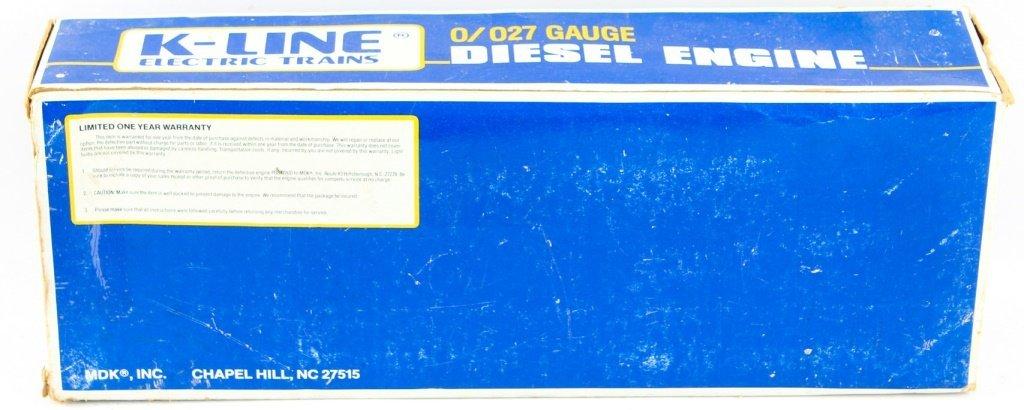 K-LINE TRAINS 2215 DUAL MOTOR MP-15 LOCO - 3
