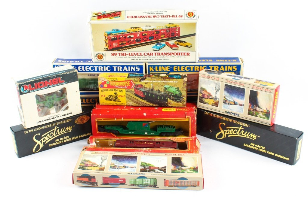 MIXED LOT OF MODEL TRAINS  K-LINE, TRIANG ETC.