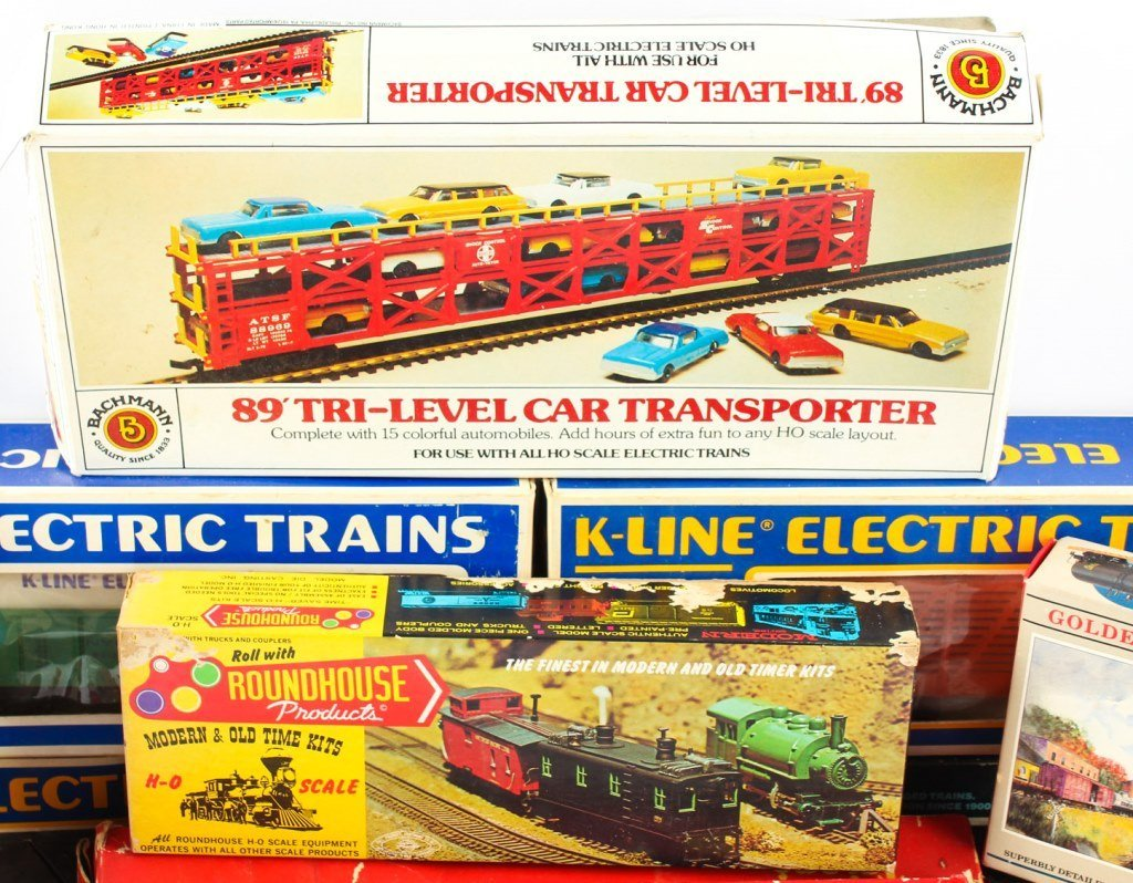 MIXED LOT OF MODEL TRAINS  K-LINE, TRIANG ETC. - 4