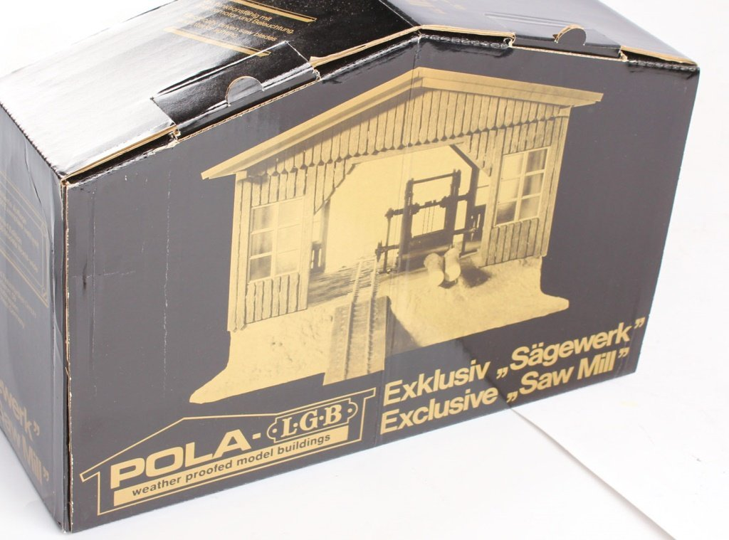 POLA-LGB BOBBY'S SAWMILL MODEL KIT #1936 - 2