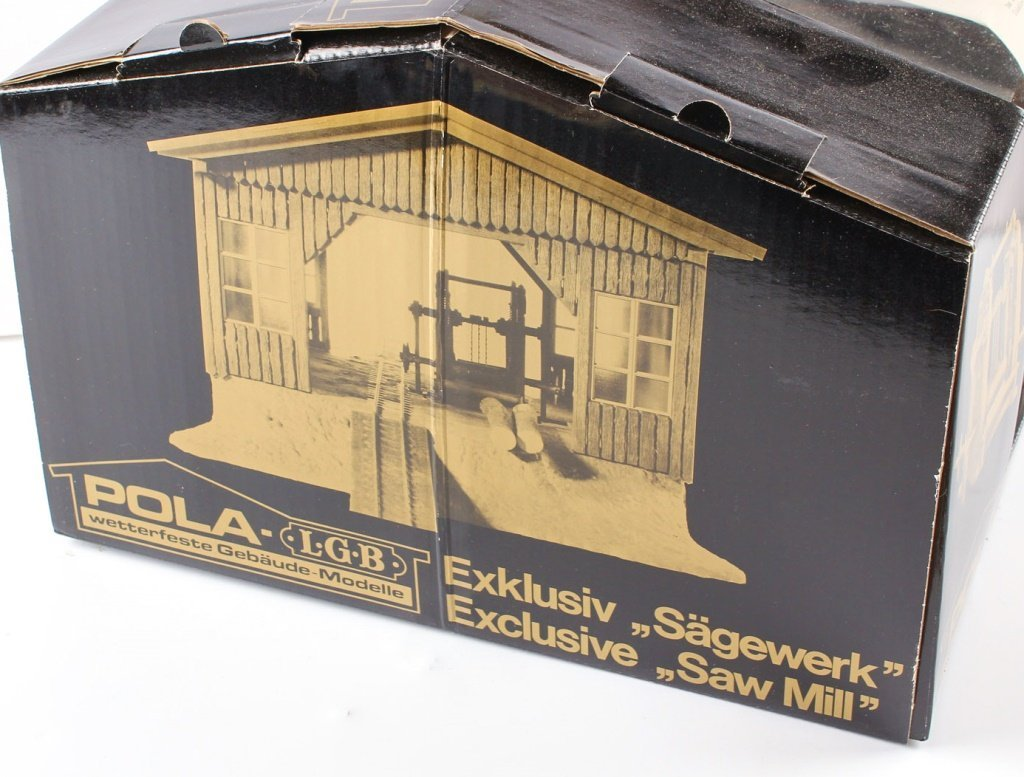 POLA-LGB BOBBY'S SAWMILL MODEL KIT #1936 - 3