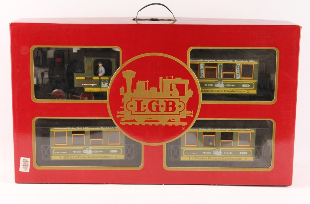 LGB 1985 TRAINS 150 YEARS OF GERMANY