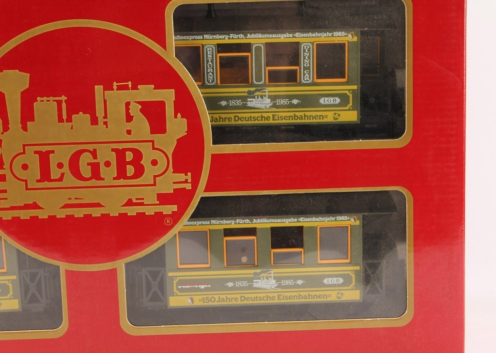 LGB 1985 TRAINS 150 YEARS OF GERMANY - 3