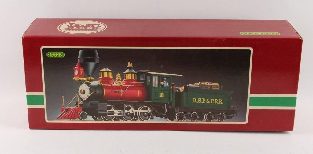 LGB 1991 D.S.P & P.R.R TRAIN 2028 D