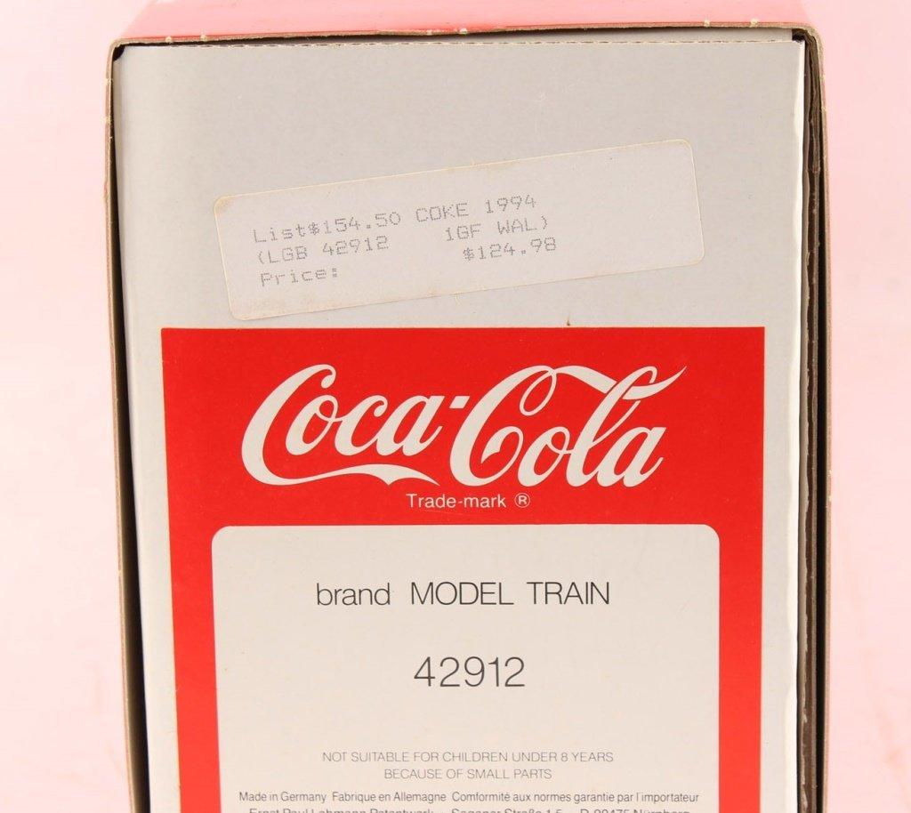 LGB 42912 COCA-COLA POLAR BEAR BOX CAR - 2