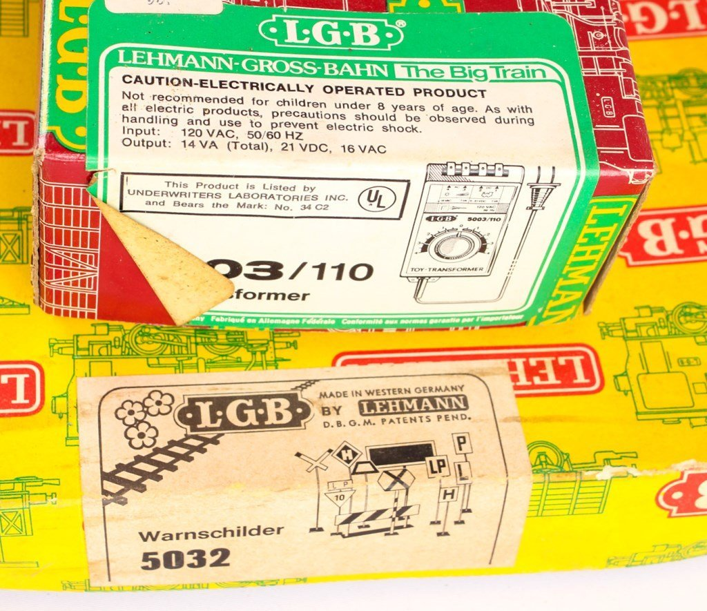 LOT OF LGB BRANDED ACCESSORIES AND TRACKS - 2