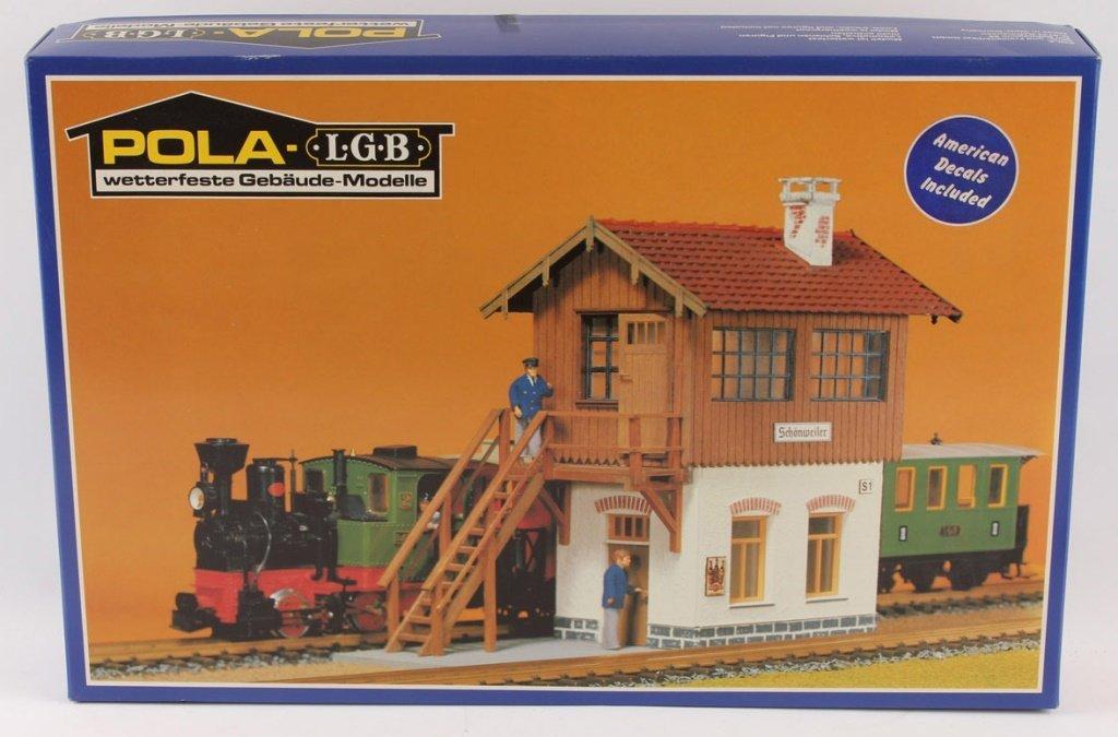 POLA-LGB TRAIN 914 SWITCH TOWER