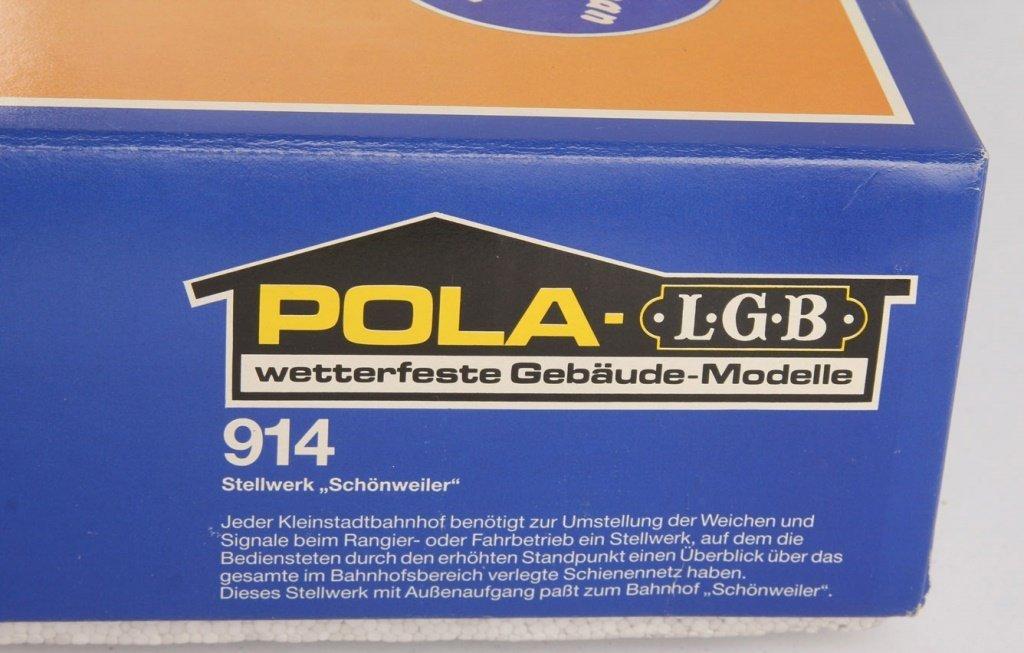 POLA-LGB TRAIN 914 SWITCH TOWER - 6