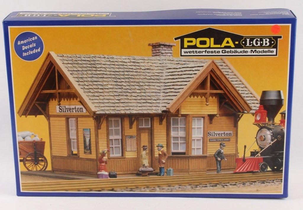 POLA-LGB 907 SILVERTON STATION MODEL KIT