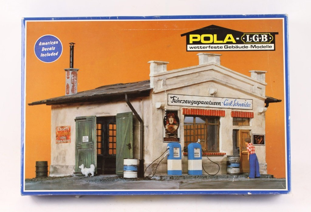 POLO-LGB 931 SERVICE STATION MODEL KIT