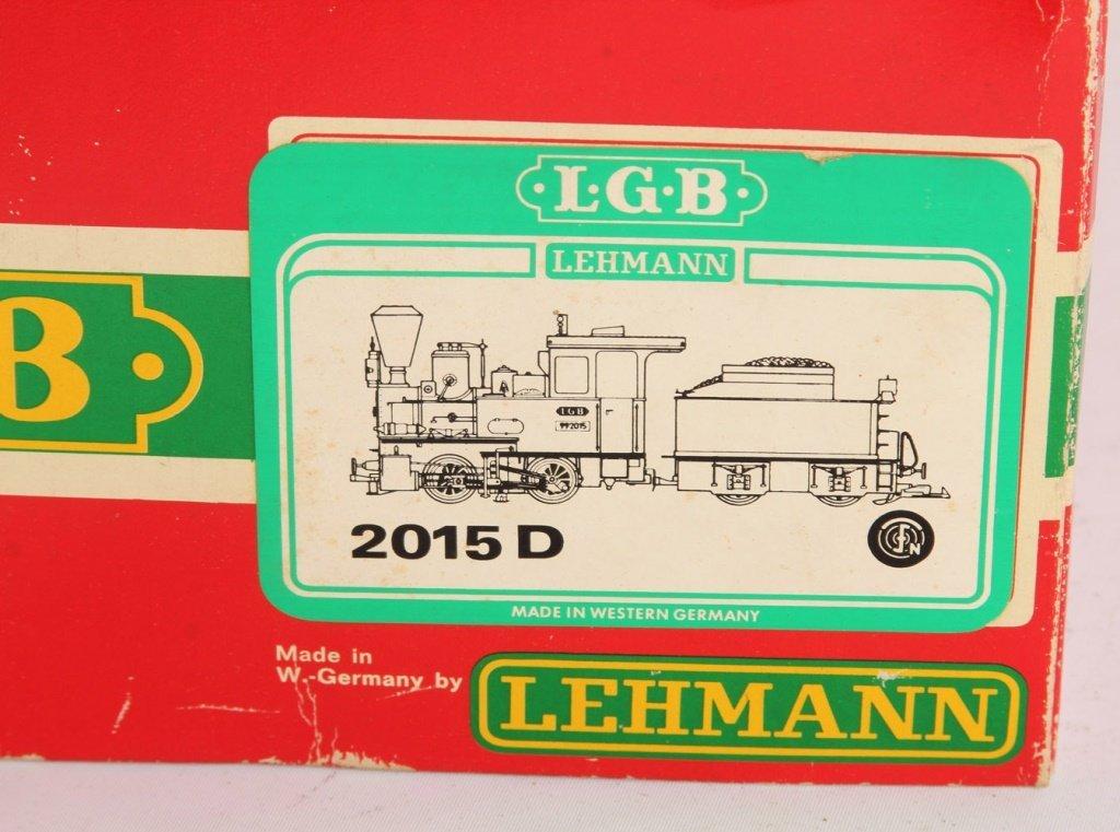 LGB 2015D STEAM LOCO 0-4-0 W/TENDER - 2