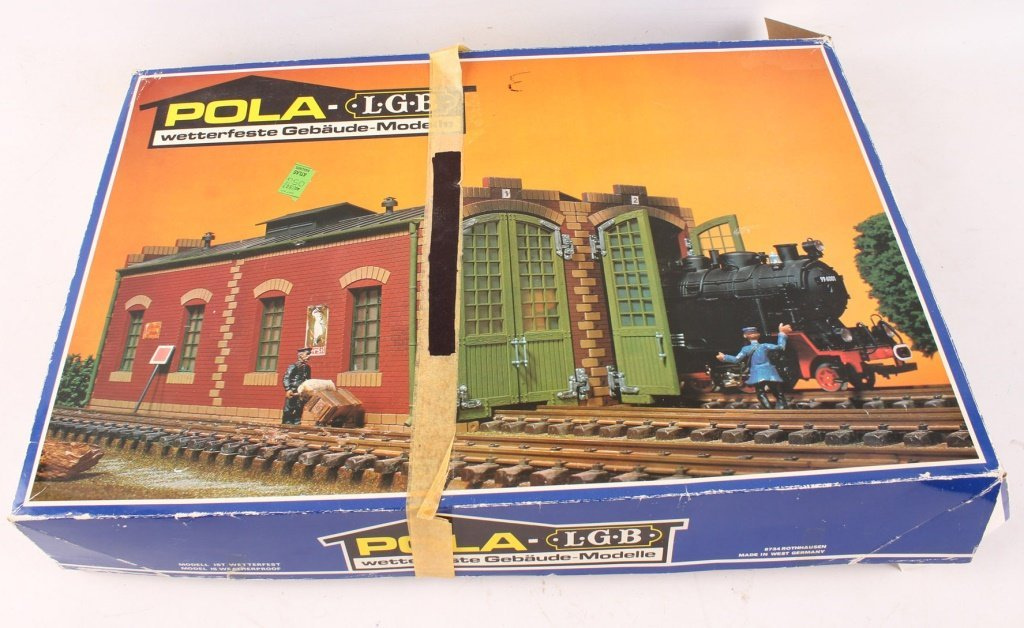 POLA-LGB 911 DOUBLE TRAIN SHED MODEL KIT