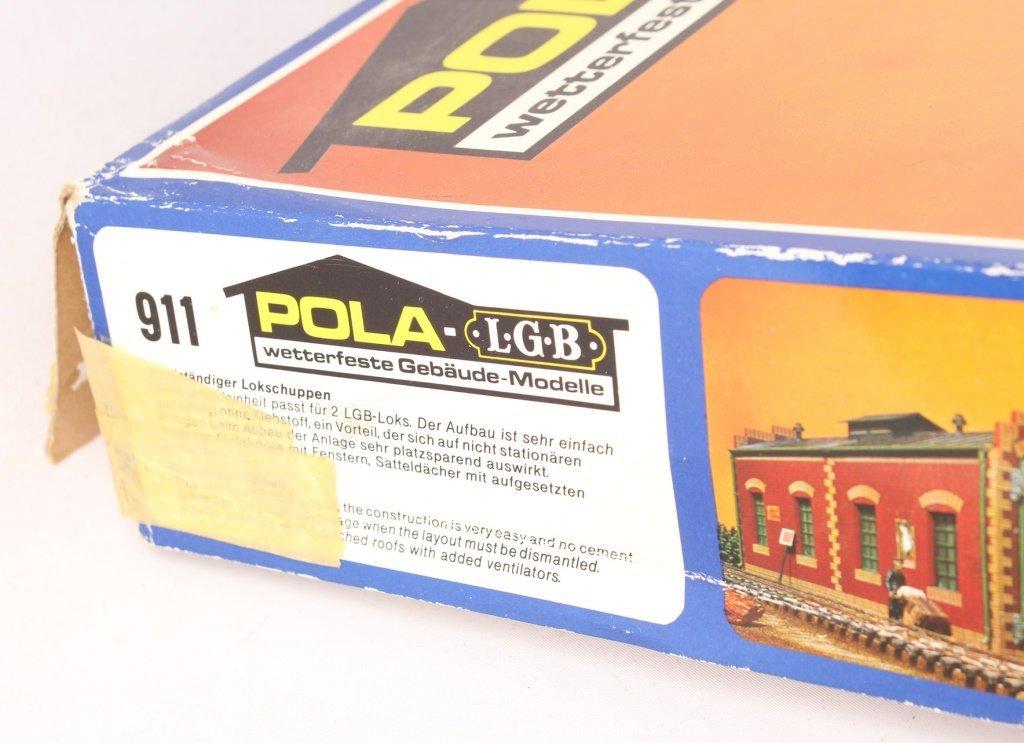 POLA-LGB 911 DOUBLE TRAIN SHED MODEL KIT - 3